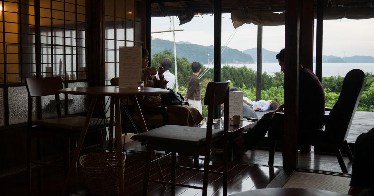 しまなみ海道②オミシマコーヒー焙煎所