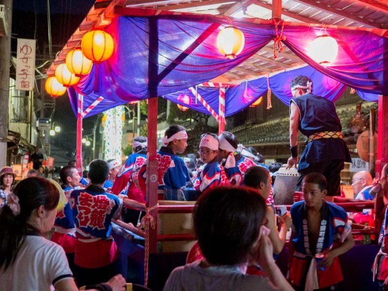 小田燈籠まつりに行ってみた!|内子町〈愛媛の祭り〉