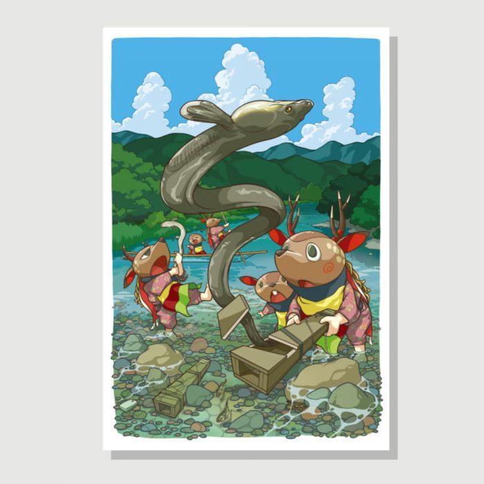 Itsu-shika Postcard Series