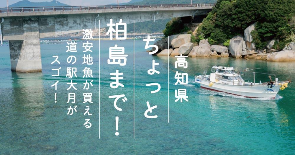 高知|ちょっと柏島まで!|激安地魚が買える道の駅大月がスゴイ!