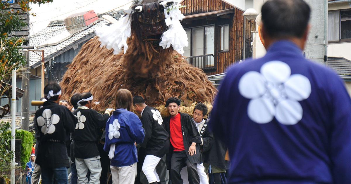 松野町|2016秋祭り〈松丸鉢合せ編〉